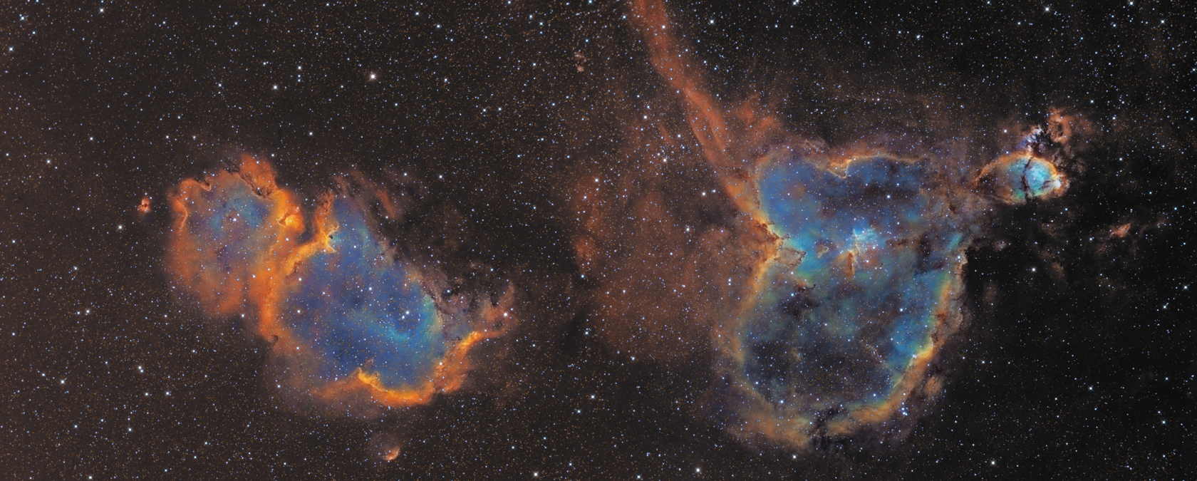 Heart and Soul Nebula Documentary - Pics about space